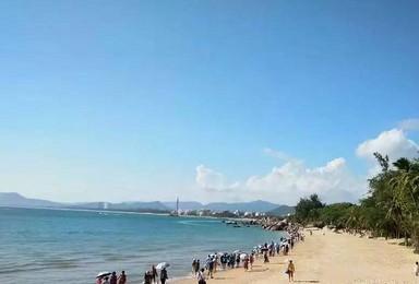 海南三亚椰岛明月双飞(7日行程)