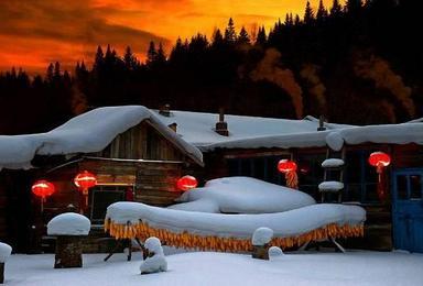 东方小巴黎哈尔滨 亚布力激情滑雪 中国第一雪乡 中央大街双飞游(5日行程)