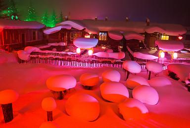 中国雪乡雪谷 羊草山 冰雪童话世界(4日行程)