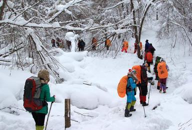 哈尔滨 雪谷穿越30里羊草山 雪乡 长白山雾凇岛 徒步行程(7日行程)