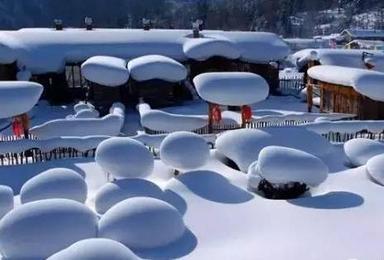冰雪奇缘之雪乡探秘 冰雪大世界开心之旅(0日行程)