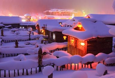 冰情雪韵 雪谷徒步 哈尔滨冰雪大世界(7日行程)