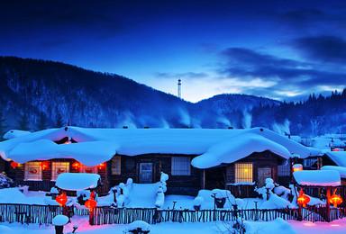 东北雪乡摄影 镜泊湖 魔界 长白山 松岭雪村 摄影创作团(8日行程)