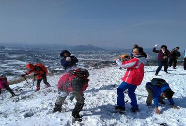2017年01月06-08日 健身徒步   穿越汤山小武功山九连尖 泡汤山温泉(3日行程)