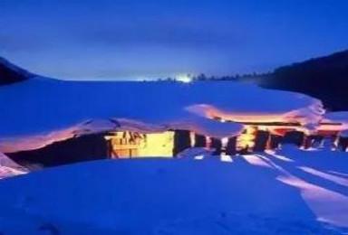 雪乡穿越 探秘雪域长白 赏雾凇奇观 激情滑雪 东北活动(7日行程)