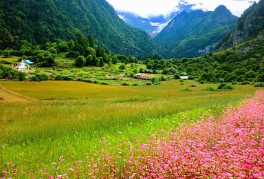 寻找香巴拉 徒步中国最原始村落雨崩村 朝圣梅里雪山(7日行程)