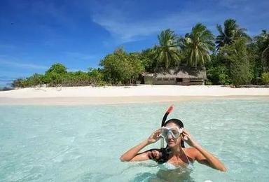 海南三亚 浮潜 海钓 环岛骑行 阳光 沙滩 海浪 问佛 露营 海鲜大餐(7日行程)