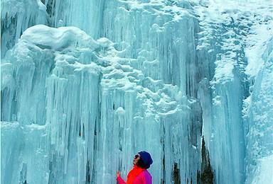 新疆天山行者俱乐部邀您西白杨沟一日休闲徒步 赏40米巨瀑布(1日行程)