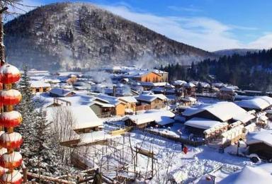东北哈尔冰中国雪乡 长白山 雾凇岛品质游(7日行程)