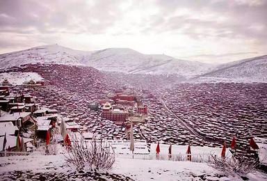 色达禅心祈福 丹巴甲居藏寨 越野车环线之旅(4日行程)