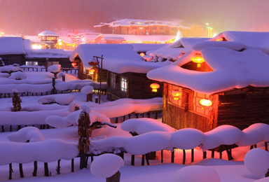 春节期 冰情雪韵哈尔滨 中国雪乡穿越(7日行程)