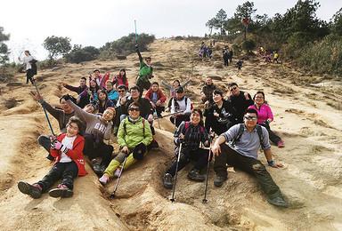 初级徒步虐线 穿越苏州小七尖 灵树线徒步(1日行程)