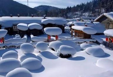 我们一起去雪乡过正月十五元宵节(4日行程)