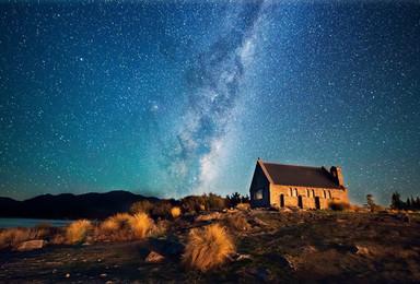 新西兰 南十字星照耀的国度 房车自驾 赏秋观色(14日行程)