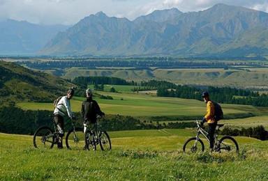 新西兰 南十字星照耀的国度 自行车南岛环游赏秋(11日行程)