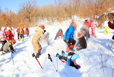 赏冰乐雪之穿越外拍(1日行程)
