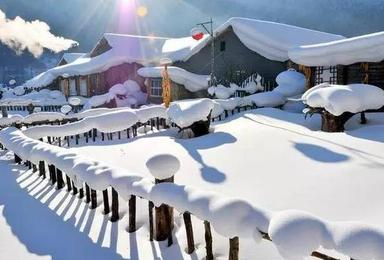 长白山天池 雪乡雪谷 吉林雾淞 冰雪大世界(6日行程)