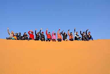 走进宁夏腾格里沙漠无人区 深入沙漠腹地徒步穿越挑战生存极限(3日行程)