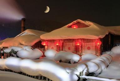 雪乡雪谷滑雪 雾凇岛赏雾凇 雪谷穿越雪乡摄影游(5日行程)