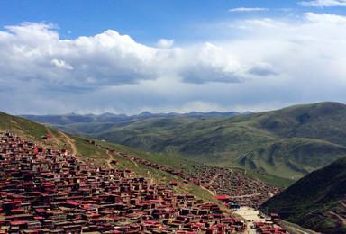 穿过佛国净土 走进最后香格里拉 色达 稻城亚丁(8日行程)