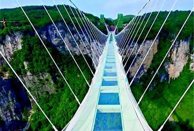元宵节 张家界玻璃桥 槟榔谷游(2日行程)