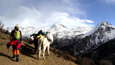 四姑娘山大峰二峰 风向标带你周末体验5000级雪山(3日行程)
