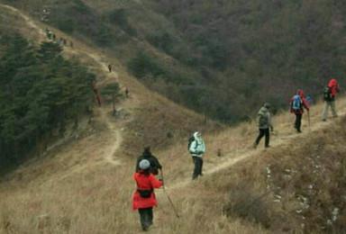 济南云梯山徒步穿越(1日行程)