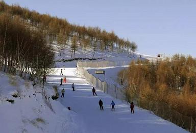 伏牛山滑雪场免费滑雪(1日行程)