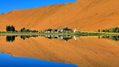 徒步穿越中国最美沙漠 巴丹吉林沙漠(5日行程)