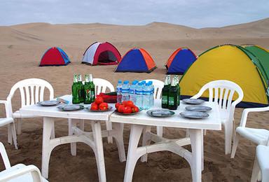 腾格里沙漠腹地露营观星(2日行程)