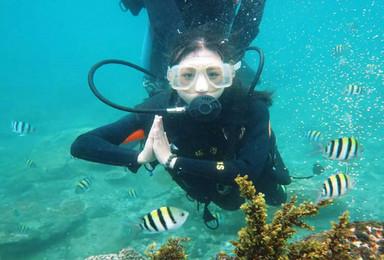 遇见三分之一海南 小众游海南 潜水 冲浪(7日行程)