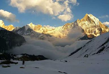 徒步喜马拉雅 尼泊尔布恩山 安纳普尔纳登山大本营ABC连穿(13日行程)