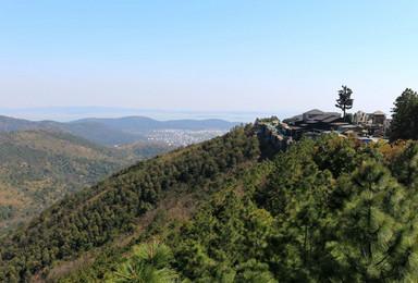 登缥缈峰 行山脊仙境 赏太湖风光(1日行程)