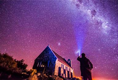 新西兰 冬日恋歌 南北岛精华深度游 冬季特辑二期(10日行程)