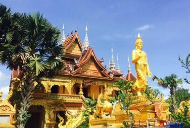 云南西双版纳 傣族园 磨憨 老挝琅勃拉邦 孟塞 温暖佛国(8日行程)