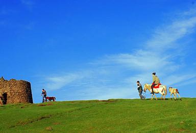 湖南郴州小东江 丹霞地貌高椅岭 仰天湖大草原骑马(3日行程)