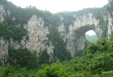 徒步张家界槟榔谷 天使之城 小环线穿越(2日行程)