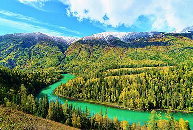中疆伊犁 北疆喀纳斯两大美景集中地(16日行程)