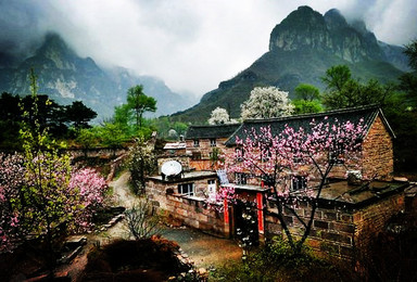 南太行 王莽岭 挂壁公路 红岩大峡谷 抱犊寨 老龙口 八里沟(4日行程)