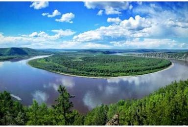 中俄边境之旅 漠河 呼玛 黑河6天5晚自由行(6日行程)