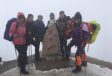 2017攀登太白山 触摸蓝天 向天问好 感受北方屋脊(2日行程)