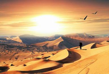 腾格里沙漠腹地徒步穿越(4日行程)
