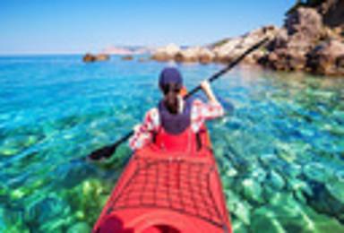 皮划艇体验 无需游泳基础X畅游大海X寻找白海豚(1日行程)