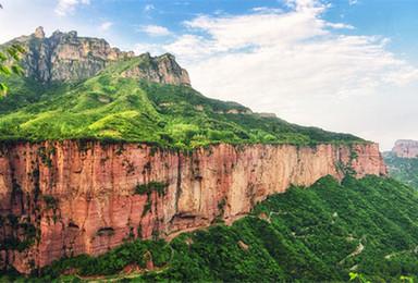 游南太行水世界八里沟 穿越老龙口瀑布 观郭亮绝壁长廊(4日行程)