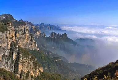 端午节南太行山穿越王莽岭郭亮村 动人心魄的极致景观(4日行程)