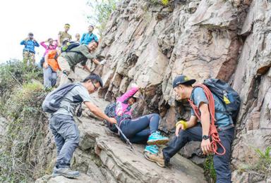 穿越丛林 舞动山脊尽在高骊山峭壁间 虐途户外徒步(1日行程)