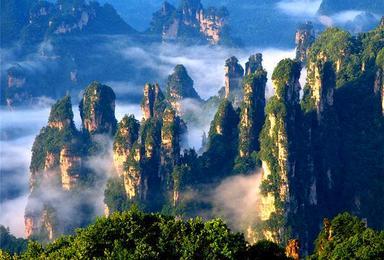张家界大峡谷 张家界森林公园(3日行程)