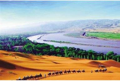 宁夏沙坡头 西夏王陵 腾格里沙漠 沙湖 水洞沟 西部影视城(4日行程)