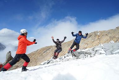 半脊峰攀登探险计划 冰雪技术型登山 毕棚沟徒步(7日行程)