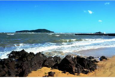 威海鸡鸣岛 爸爸去哪儿拍摄地 蓬莱 月亮湾沙滩 休闲游(4日行程)